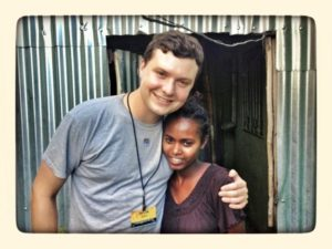 Dustin Keele and Compassion Child