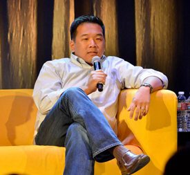 Venture capitalist Chi-Hua Chien at the 2013 Conference
